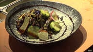 Soba noodles with black ants, crickets and sesame seeds is the latest insect-inspired dish at Linger in Denver.