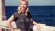 FILE - A late 1960s photo of iconic Lebanese singer Sabah in the Mediterranean port city of Alexandria, Egypt.
