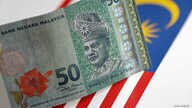 FILE - A Malaysia Ringgit note is seen in this illustration photo, June 1, 2017.