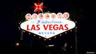 Tourists take pictures in front of the iconic 'Welcome to Fabulous Las Vegas' sign on Las Vegas Boulevard in Las Vegas, Feb. 26, 2018. Las Vegas is known for casinos and parties, but it also has the University of Nevada Las Vegas.