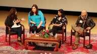 Panel discussion during Lahore Literary Festival in New York. (Photo: Aunshuman Apte / VOA )
