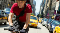 "Joseph Gordon-Levitt stars in Columbia Pictures' ""Premium Rush."" (Photo: Sarah Shatz)"