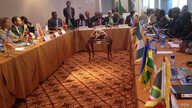 The expanded mediation team for South Sudan, IGAD-Plus, meets in Addis Ababa on July 23, 2015, to hammer out details of a compromise deal for the young nation.