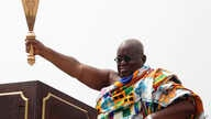 Ghana President elect Nana Akufo-Addo during his inauguration ceremony in Accra, Jan. 7, 2017.