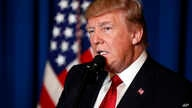 President Donald Trump speaks at Mar-a-Lago in Palm Beach, Florida, April 6, 2017, after the U.S. fired a barrage of cruise missiles into Syria in retaliation for this week's gruesome chemical weapons attack against civilians