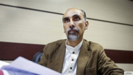 Iranian lawyer Mostafa Tork Hamedani appears in this undated photo published by Iranian media.