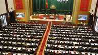 Prime Minister Nguyen Tan Dung at opening ceremony of the autumn session of Vietnam's National Assembly, Hanoi, Oct. 21, 2013.