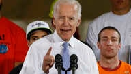 FILE - In this March 6, 2018 file photo, former Vice President Joe Biden speaks at a rally in support of Conor Lamb, the Democratic candidate for the March 13 special election in Pennsylvania's 18th Congressional District in Collier, Pa.