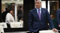 Kosovo's President Hashim Thaci during a round table meeting at the EU-Western Balkans Summit in Sofia, Bulgaria, May 17, 2018.