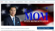 Rady Mom made history when he won election to become the first ever Cambodian-American elected to a state legislature. (Screenshot of Rady Mom's website)