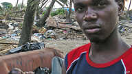 Thousands, such as these victims, were displaced by the dumping of waste in Abidjan in August 2006