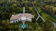 This Oct. 6, 2019, photo shows the house of Mykola Zlochevsky, near Kyiv, Ukraine, owner of the gas company Burisma that hired…