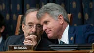 House Foreign Affairs Committee Chairman Eliot Engel, D-N.Y., left, and Rep. Michael McCaul, R-Texas, the ranking member,…