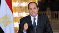 FILE - Egyptian President Abdel Fattah el-Sissi delivers an address at the Ittihadiya presidential palace in Cairo, Egypt, May 26, 2017.