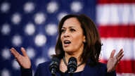 FILE - U.S. Senator Kamala Harris launches her campaign for President of the United States at a rally at Frank H. Ogawa Plaza in her hometown of Oakland, California, Jan. 27, 2019.