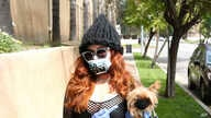 Photo by: zz/OGUT/STAR MAX/IPx 2020 3/31/20 Phoebe Price is seen on March 31, 2020 wearing a face mask and gloves amid the…