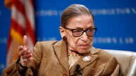 FILE - In this Feb. 10, 2020 , file photo, U.S. Supreme Court Associate Justice Ruth Bader Ginsburg speaks during a discussion…