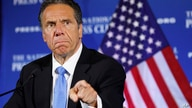 New York Gov. Andrew Cuomo speaks during a news conference, May 27, 2020, at the National Press Club in Washington.