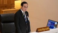 Thailand Prime Minister Prayuth Chan-ocha answers questions during an open session at the parliament house in Bangkok, May 27, 2020.
