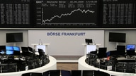 FILE -The DAX share graph is pictured at the stock exchange in Frankfurt, Germany, May 22, 2020.