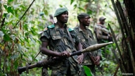 Democratic Republic of Congo military personnel (FARDC) patrol against the Allied Democratic Forces (ADF)