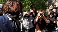 Actor Johnny Depp arrives at the High Court in London, Britain July 7, 2020. REUTERS/Peter Nicholls     TPX IMAGES OF THE DAY