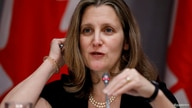 FILE PHOTO: Canada's Deputy Prime Minister Chrystia Freeland attends a news conference as efforts continue to help slow the…