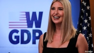 White House senior advisor Ivanka Trump speaks during a Women's Global Development and Prosperity (W-GDP) online event to…