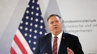 U.S. Secretary of State Mike Pompeo holds a joint news conference with Austrian Foreign Minister Alexander Schallenberg in…