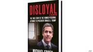 "This image provided by Skyhorse Publishing shows cover of Michael Cohen's new book, ""Disloyal"""