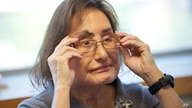 Connie Culp, who underwent the first face transplant surgery in the U.S. talks with the Associated Press at the Cleveland…
