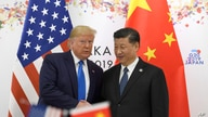President Donald Trump poses for a photo with Chinese President Xi Jinping during a meeting on the sidelines of the G-20 summit.