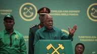 President John Magufuli speaks at the national congress of his ruling Chama cha Mapinduzi (CCM) party in Dodoma, Tanzania.