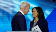 FILE - Democratic presidential candidate former Vice President Joe Biden, left, and then-candidate Kamala Harris.