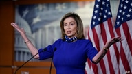 Speaker of the House Nancy Pelosi, D-Calif., speaks during a news conference at the Capitol in Washington, Thursday, Aug. 27,…