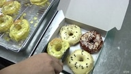 Halo Doughnut is one of tens of thousands of microbusinesses that have started in Malaysia during the past few months. (Dave Grunebaum/VOA)