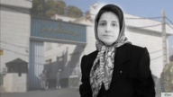 Undated image of jailed Iranian lawyer Nasrin Sotoudeh, who began a hunger strike on August 11, 2020 at Tehran's Evin prison