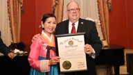 Maryland governor Larry Hogan and first lady Yumi Hogan are seen on Lunar New Year's day. (Courtesy - Executive Office of the Governor)