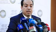 A member of the Presidential Council of Government of National Accord, Ahmed Maiteeq during a news conference in Tripoli, Libya…