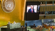 U.S. President Donald Trump speaks during the 75th annual U.N. General Assembly, which is being held mostly virtually.