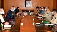 In this photo released Pakistan's military information wing 'Inter Services Public Relations', a U.S. delegation headed by…