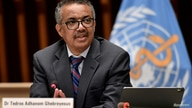 FILE PHOTO: World Health Organization (WHO) Director-General Tedros Adhanom Ghebreyesus attends a news conference in Geneva…