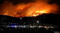 The Cameron Peak Fire, the largest wildfire in Colorado's history, burns outside Estes Park, Colorado, Oct. 16, 2020.