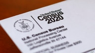 FILE - This April 5, 2020, file photo shows an envelope containing a 2020 census letter mailed to a U.S. resident in Detroit…