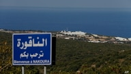 A general view shows a base of the U.N. peacekeeping force in the southern Lebanese border town of Naqoura, Lebanon, Oct. 14, 2020.