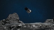 NASA's OSIRIS-REx mission readies itself to touch the surface of asteroid Bennu.