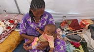 Ethiopian refugees who fled the fighting in the Tigray receive maternity care in the Hamdayet area of Sudan's eastern Kassala…