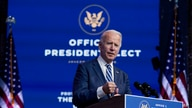 President-elect Joe Biden speaks in Wilmington, Del.