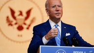 President-elect Joe Biden speaks at The Queen theater, Nov. 25, 2020, in Wilmington, Del.