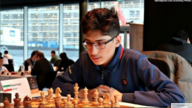 Undated image of Iranian chess prodigy Alireza Firouzja, who won the Iranian Chess Championship at age 12 and earned the grandmaster title at the age of 14. (Courtesy photo)